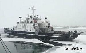 Паром «Капитан Драбкин» вернулся на переправу в Усть-Камчатске после капитального ремонта