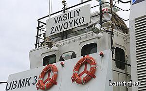 Теплоход «Василий Завойко» обеспечил регулярное сообщение на линии Петропавловск-Камчатский-Северо-Курильск