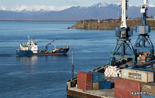 ГУП КК КамчатТрансФлот. Морская накатная баржа «Сосновка»